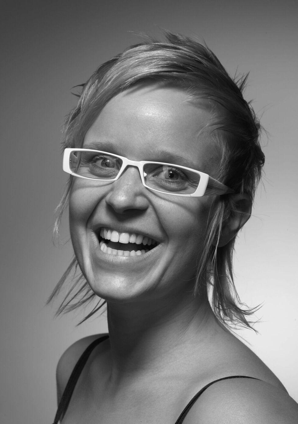 Inge Van Gheel portret zw crop