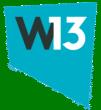 W13 logo
