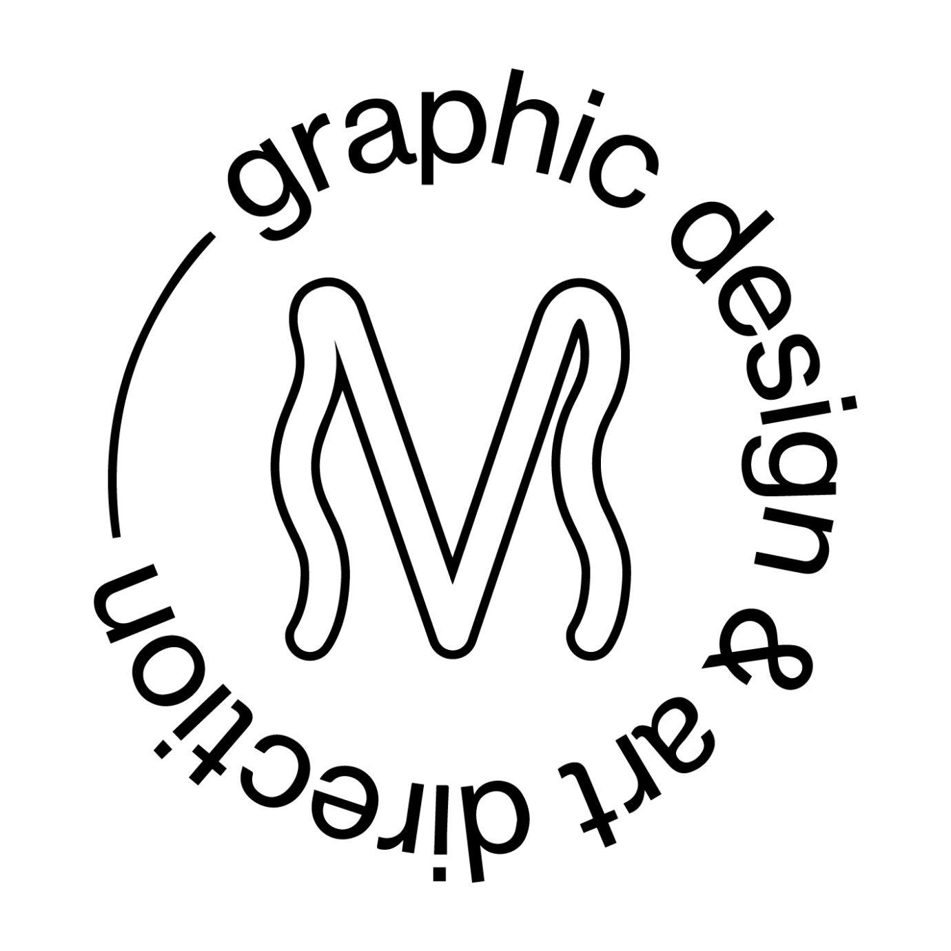 Logo M graphic design 01 Marieke Van Raes