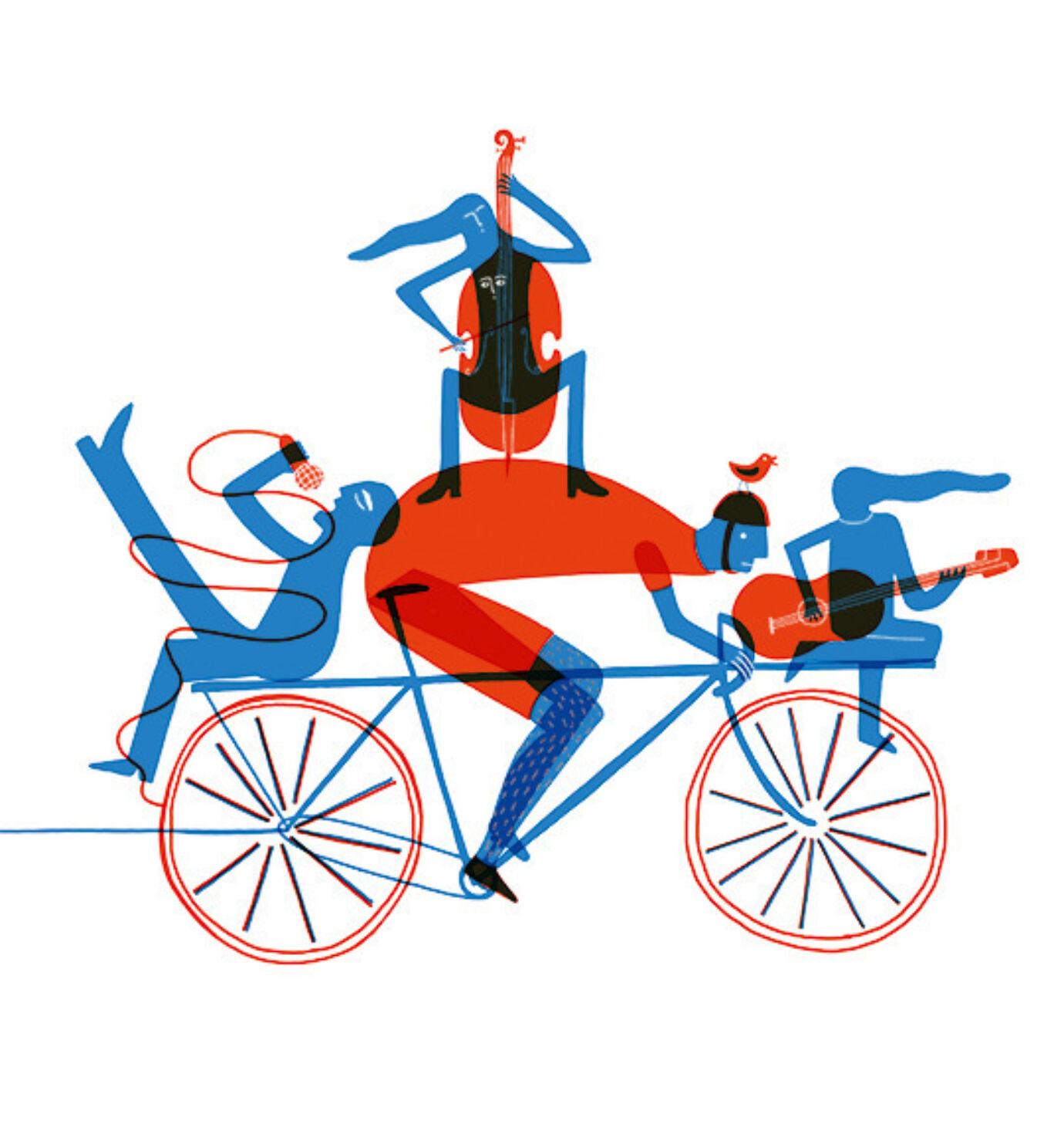 Redlobster illustratie de spil postkaart 11 ad07476a