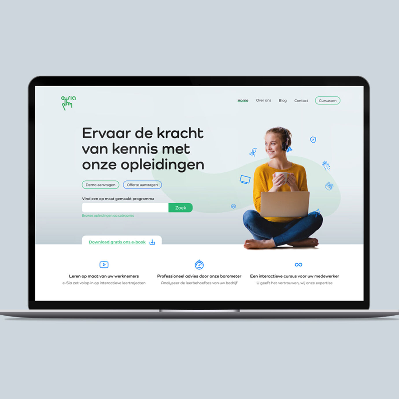 Sambou brand webdesigner esia
