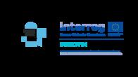 Design In POP IN STORE derived Interreg logo RGB