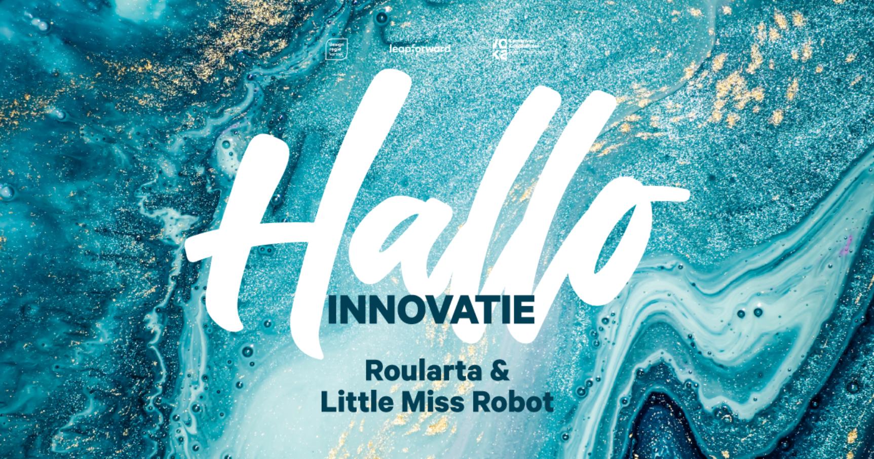 Hallo Innovatie Podcast trailer visual rectangle01