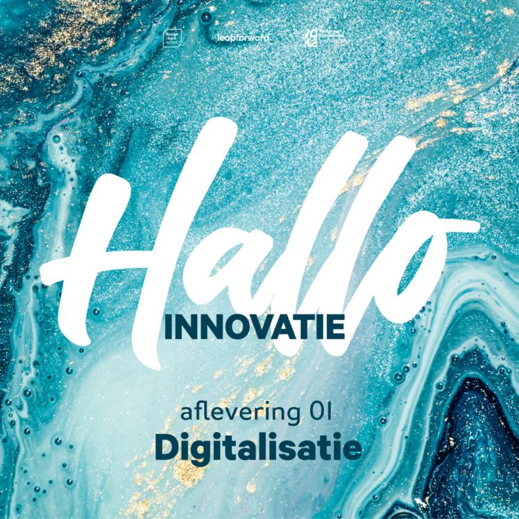 Hallo Innovatie Podcast trailer visual square02