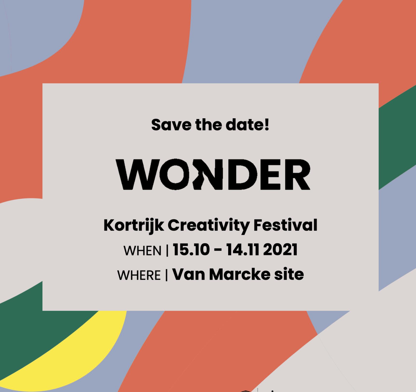 Wonder save the date