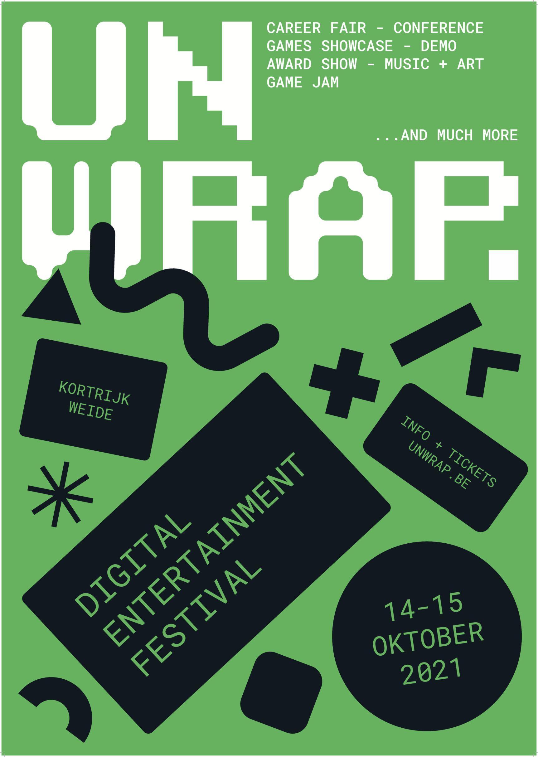 396221 Unwrap festival affiche 5567ac original 1626071908klein