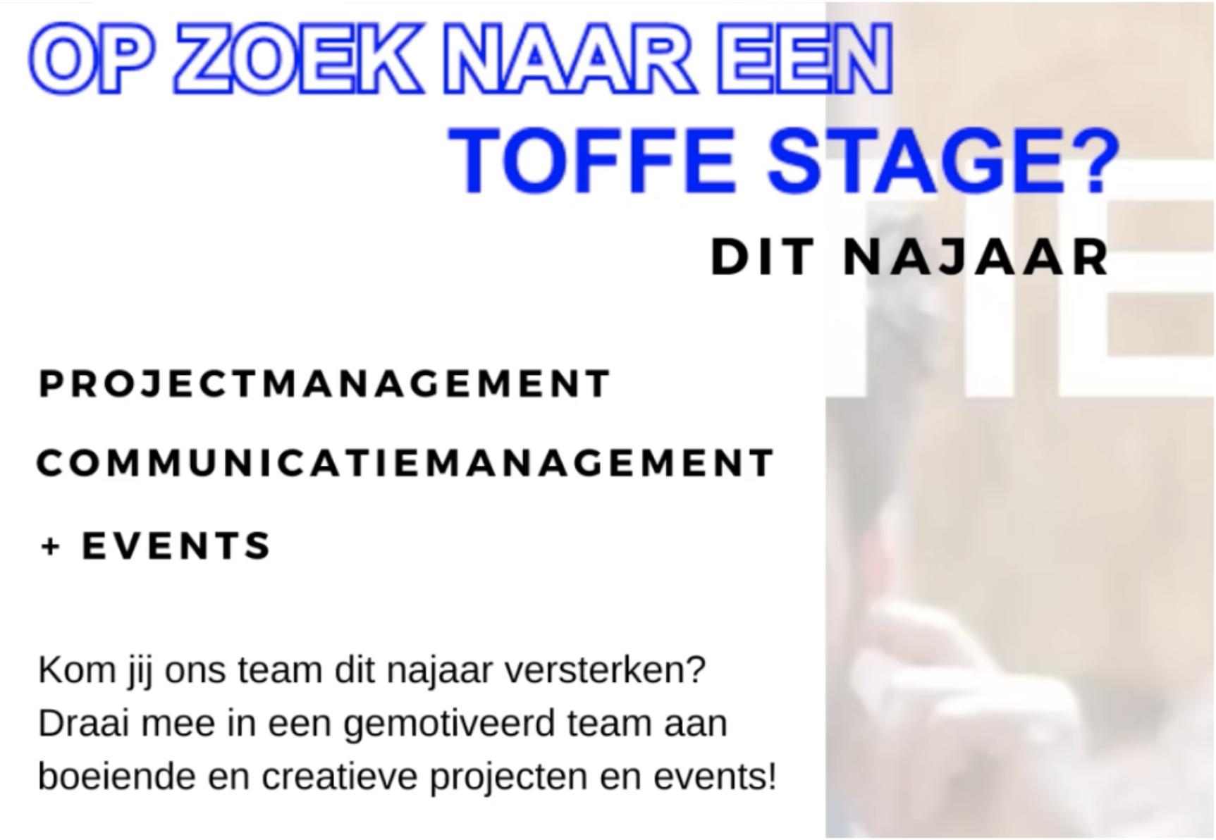 Stage najaar