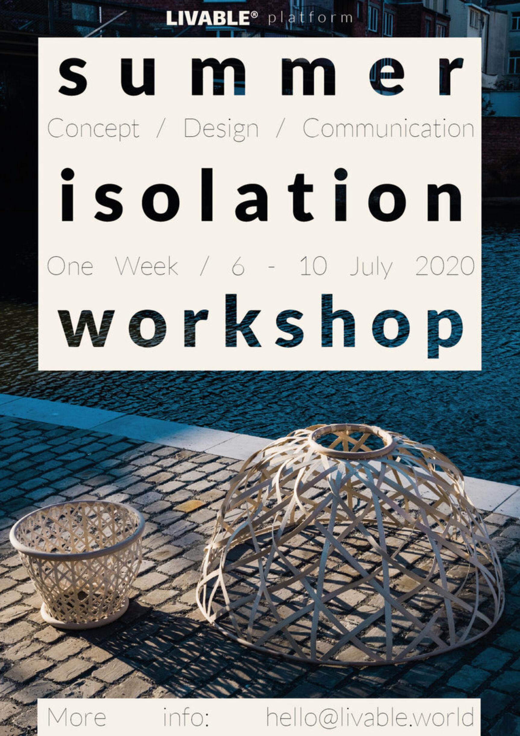 W768q85 ISOLATION Summer Workshop 13