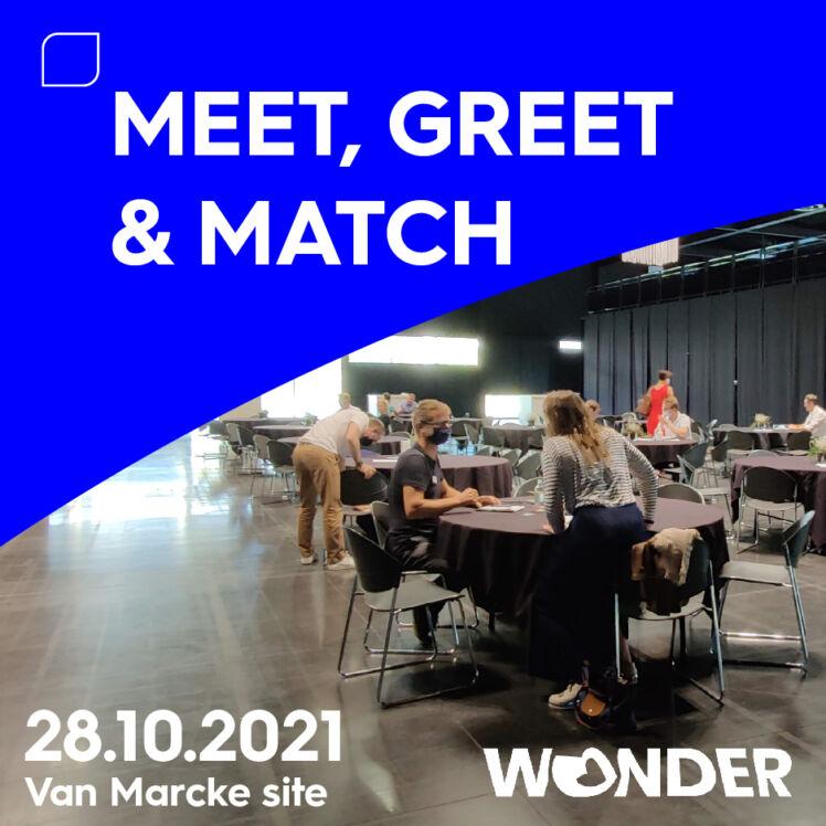 20210910 Meet Greet Match Wonder vierkant