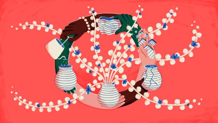 DRK x Ugent Circular economy campagnebeeld