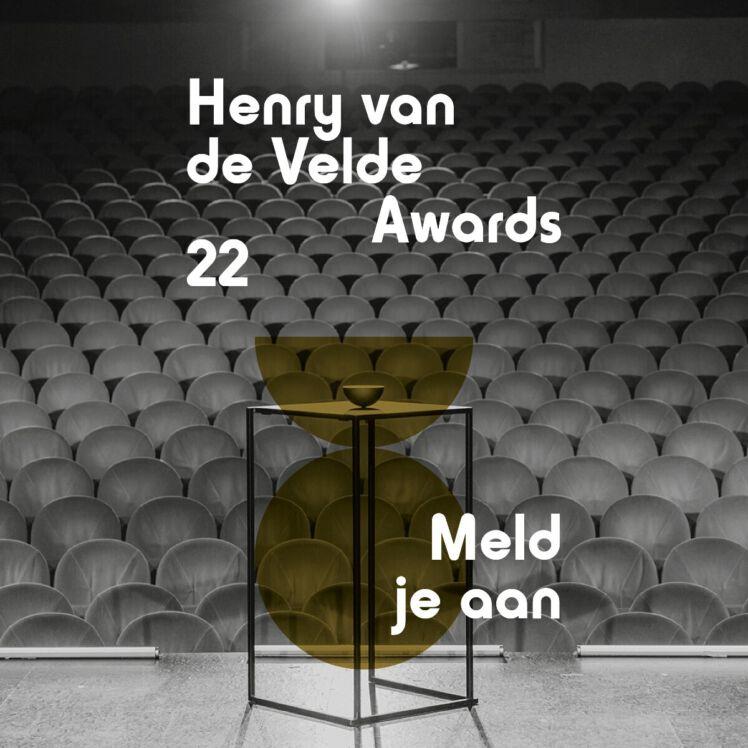 OPEN CALL Henry van de Velde Awards 2022