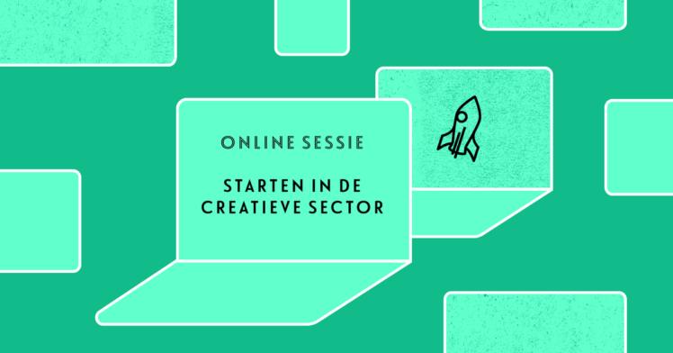 Starten in de creatieve sector