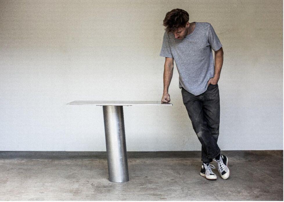 Elias van Orshaegen coll Cartes desk table