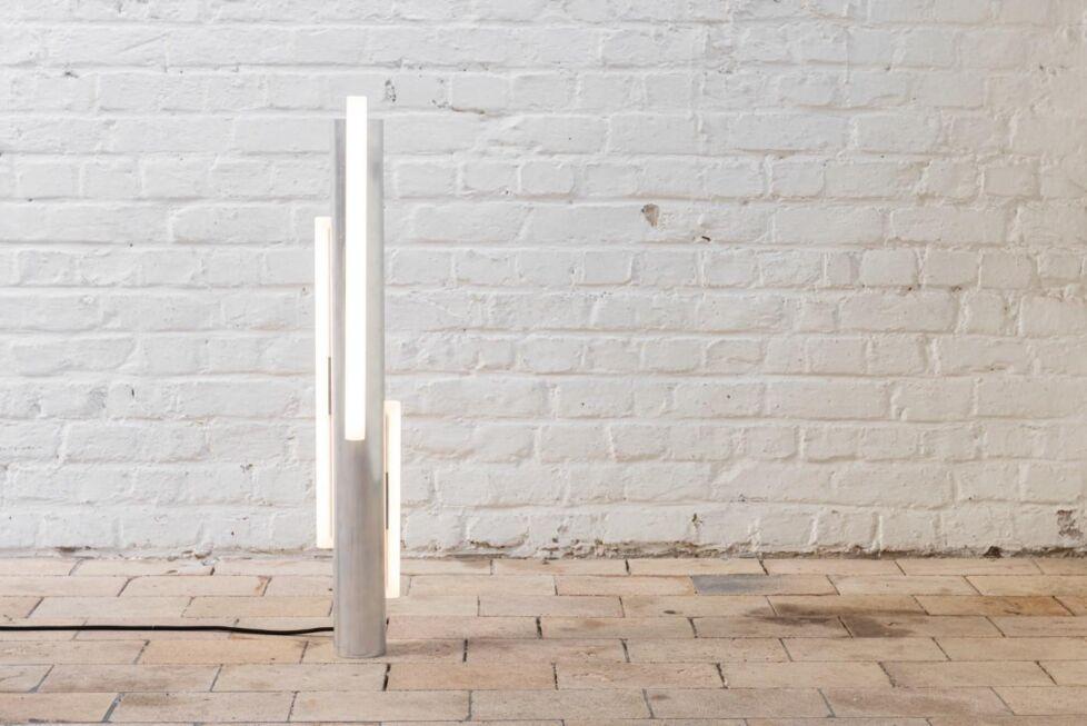 Fractall Arne Desmet Slow drops lamp