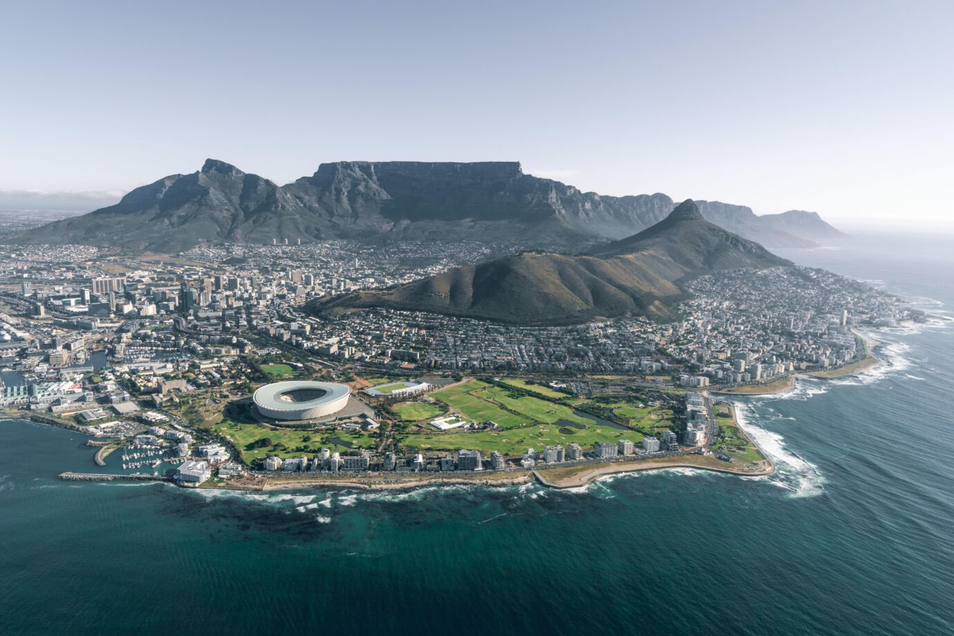 Cape Town luchtfoto