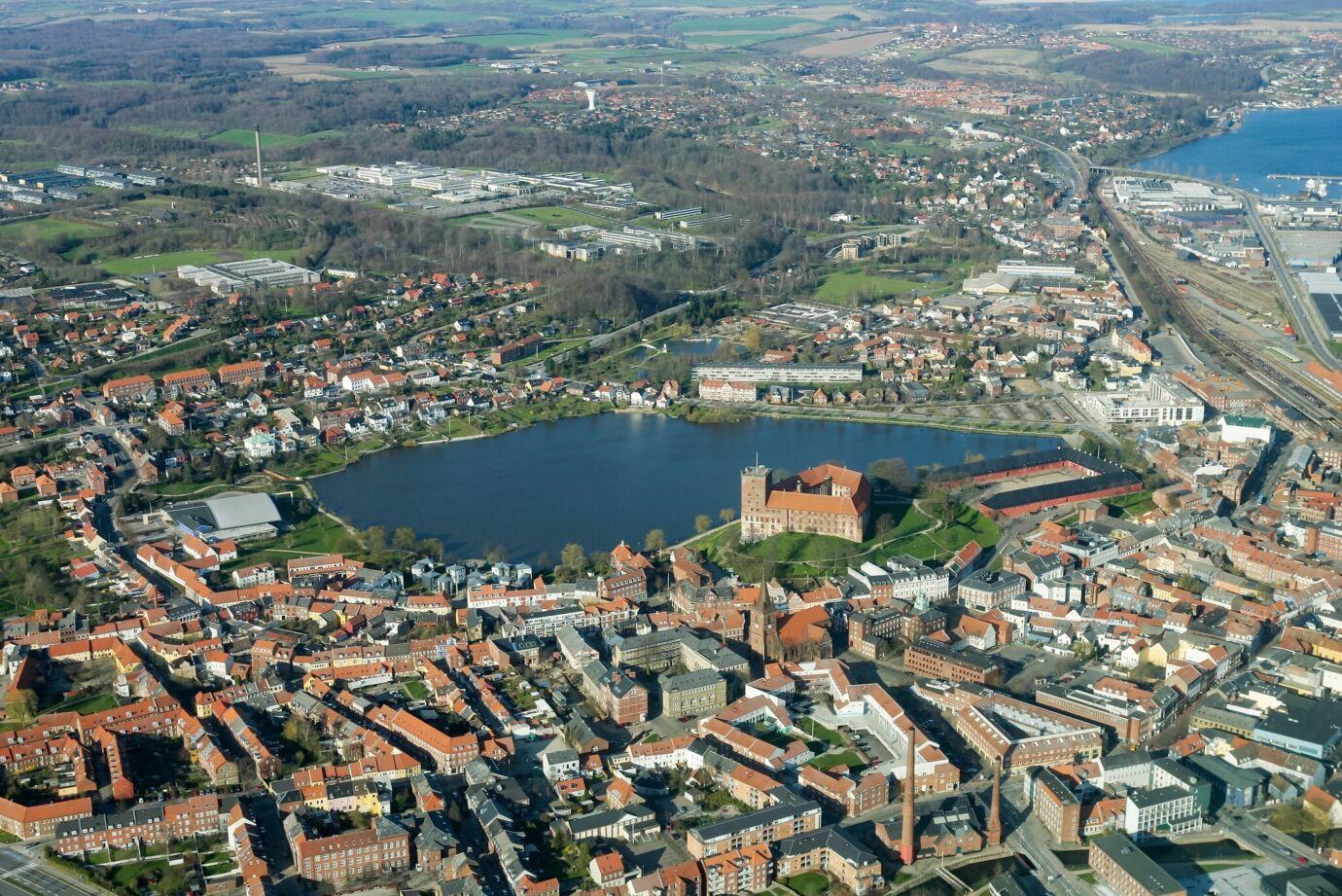 Luftfotos Danmark 6000 Kolding Kolding 2005 04 24 GJ7 I5137 Danapix X4